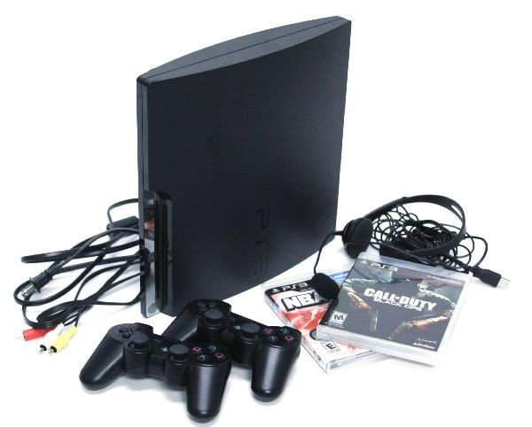 SONY PS3 HEADSET R CONTROLS CABLES 2 GAMES