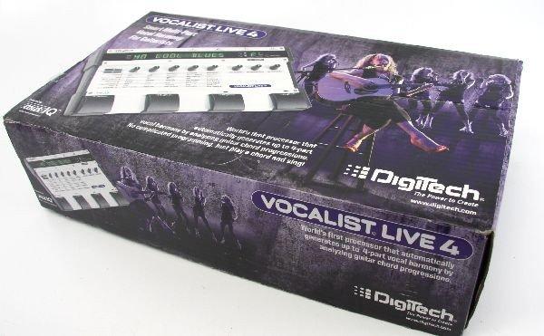 DIGITECH VOCALIST LIVE 4 GUITAR EFFECT PROCESSOR
