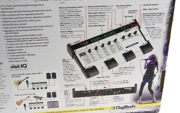 DIGITECH VOCALIST LIVE 4 GUITAR EFFECT PROCESSOR - 3