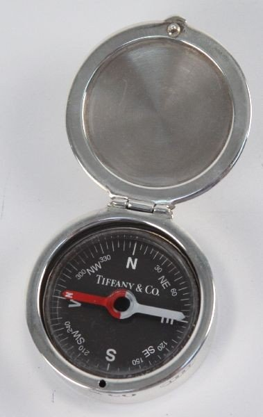 STERLING SILVER TIFFANY & CO COMPASS