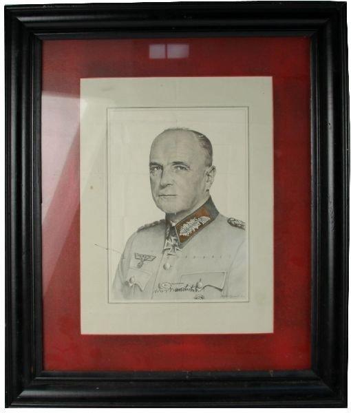 1940S PORTRAIT OF THIRD REICH FIELD MARSHAL