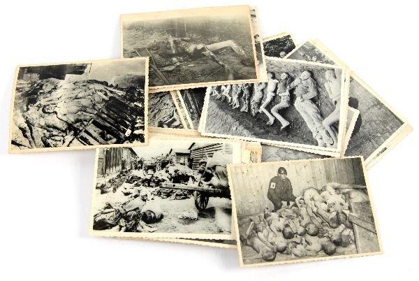 42 ORIGINAL HOLOCAUST CONCENTRATION CAMP PHOTOS