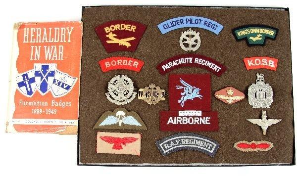 OBSOLETE WWII BRITISH AIRBORNE GLIDER RAF INSIGNIA