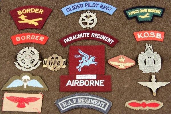 OBSOLETE WWII BRITISH AIRBORNE GLIDER RAF INSIGNIA - 2