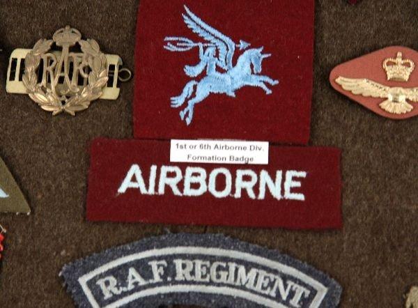 OBSOLETE WWII BRITISH AIRBORNE GLIDER RAF INSIGNIA - 4