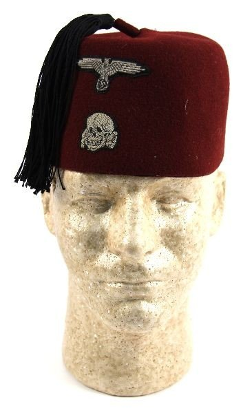 REPRODUCTION WWII WAFFEN SS 13TH DIV M43 FEZ CAP