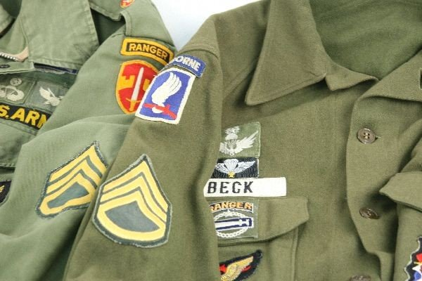 VIETNAM ERA ARMY RANGER JACKETS IN COUNTRY PATCHES - 3