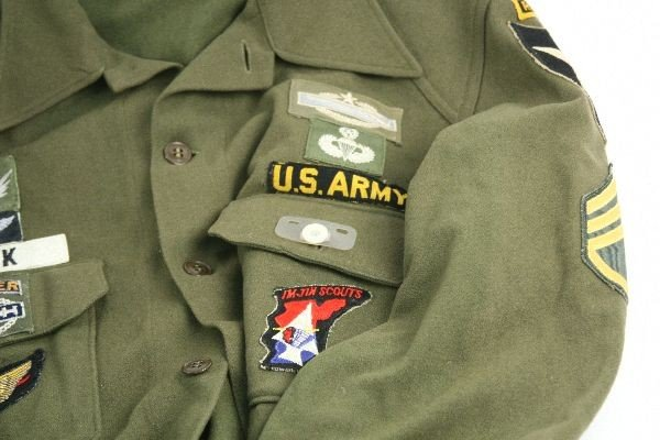 VIETNAM ERA ARMY RANGER JACKETS IN COUNTRY PATCHES - 4