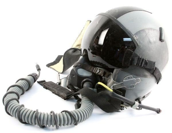 HGU 55/P GENTEX PILOT HELMET & MBU 20P OXYGEN MASK