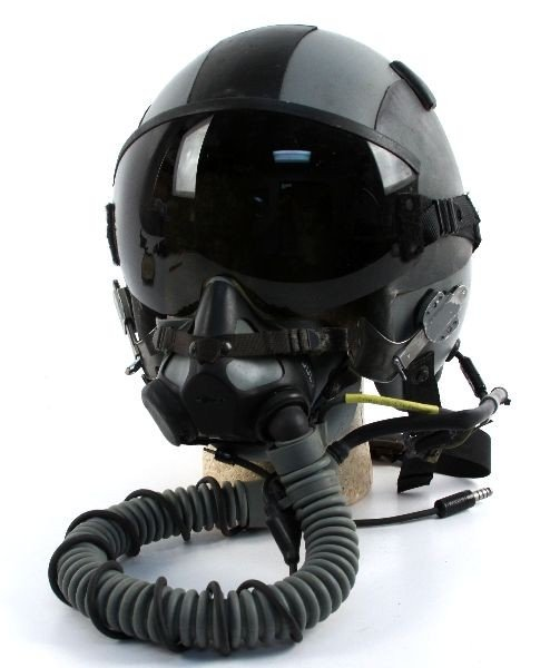 HGU 55/P GENTEX PILOT HELMET & MBU 20P OXYGEN MASK - 2