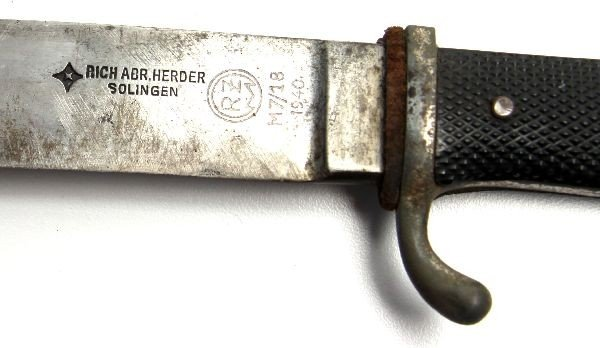 WWII GERMAN HITLER YOUTH KNIFE HERDER - 4