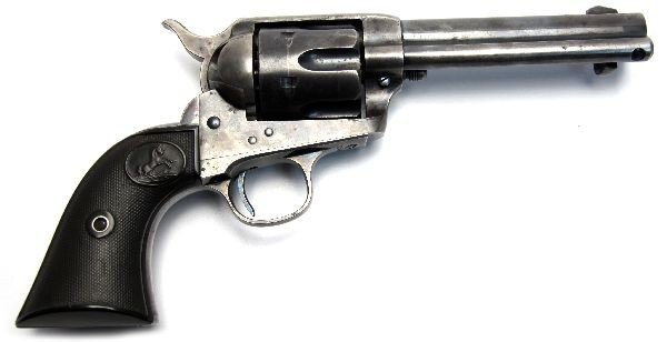 COLT SAA REVOLVER .32 WCF WITH ARCHIVE LETTER 1898