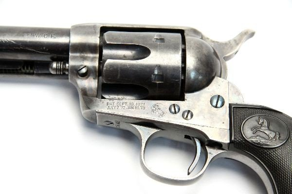 COLT SAA REVOLVER .32 WCF WITH ARCHIVE LETTER 1898 - 5