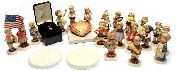 HUMMEL CLUB FIGURES AND ACCESSORIES