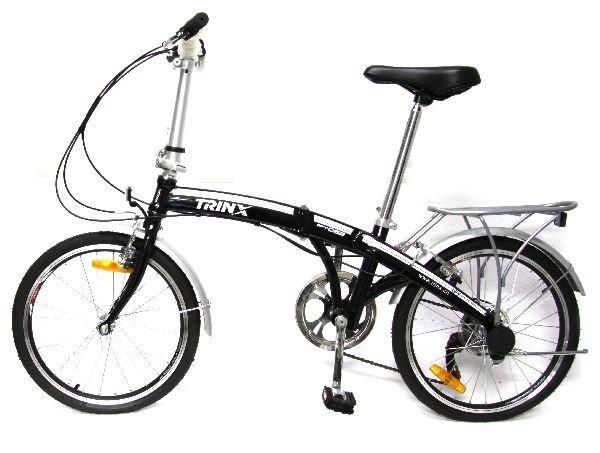 NEW FOLDING BICYCLE SHIMANO TRINX PT 062
