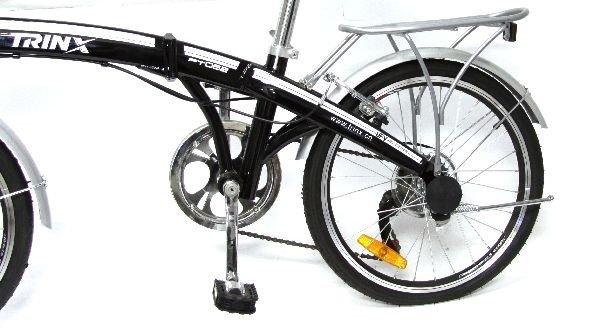 NEW FOLDING BICYCLE SHIMANO TRINX PT 062 - 2