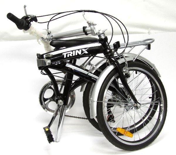 NEW FOLDING BICYCLE SHIMANO TRINX PT 062 - 3