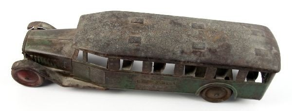 STEELCRAFT PRESSED METAL INTER CITY BUS TOY - 5
