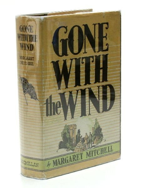 FIRST EDITION COPY OF GONE WITH THE WIND