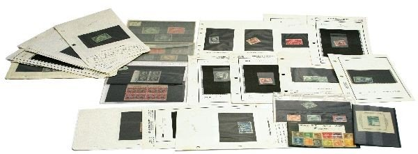 STAMP COLLECTION 1000S IN CATALOUGUE VALUE