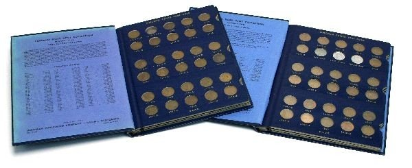 COMPLETE SET OF LINCOLN WHEAT CENTS EXCEPT 1909VDB