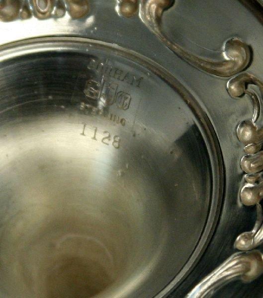 6 GORHAM STERLING SILVER STRASBOURG WATER GOBLETS - 4