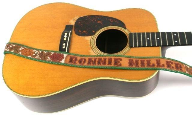 1956 MARTIN D28 LEFTY GUITAR OF RONNIE MILLER - 2