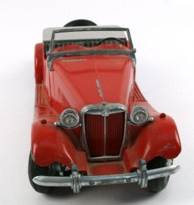 DOEPKE AUTOS MG MODEL CAR WITH ORIGFACTORY PAINT