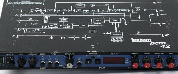 LEXICON PCM 42 DIGITAL DELAY PROCESSOR - 2