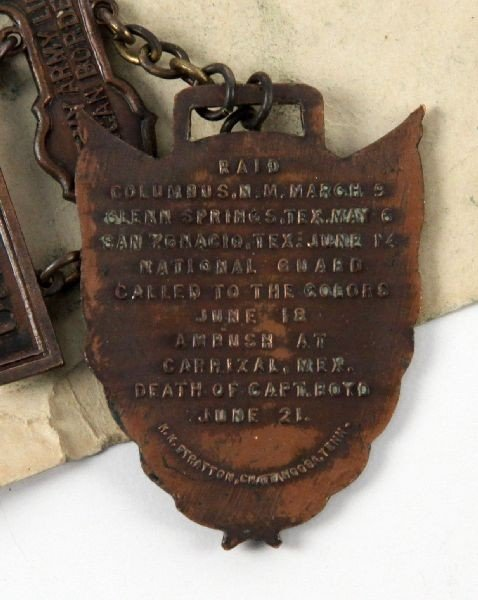 US ARMY MEXICAN BORDER SERVICE MEDAL 1916-1917 - 2