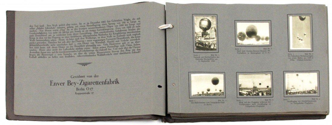 GERMAN CIGARETTE CARDS EVOLUTION OF FLYING ALBUM