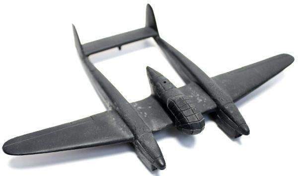 WWII GERMAN 189 FOCKE-WULF RECOGNITION MODEL