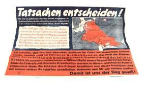 WWII GERMAN PROPAGANDA POSTER JUDE HOARE BELISHA