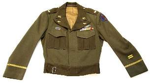 WWII US 14TH AIRFORCE IKE JACKET WITH INSIGNIA