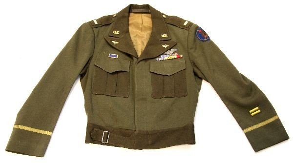 188: World War II 101st Airborne Ike Jacket