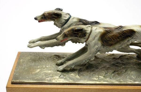VINTAGE DOG FIGURAL HOUND AUSTRIAN STRIKER LIGHTER - 2