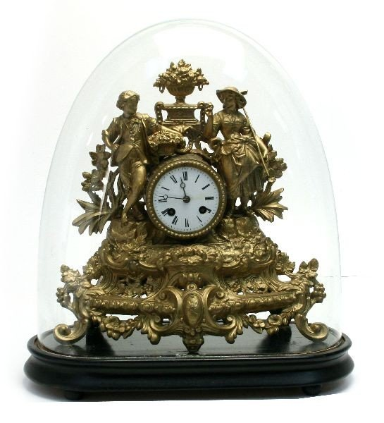 JAPY FREES FRENCH DOME MANTEL CLOCK
