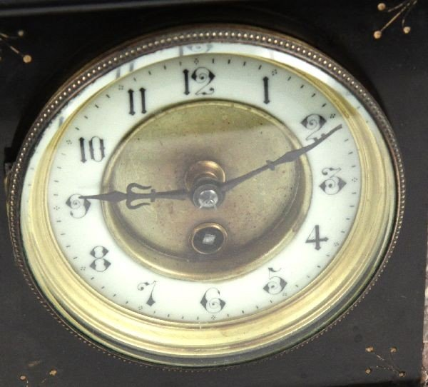 FRENCH 19TH CENTURY MANTLE CLOCK - 3