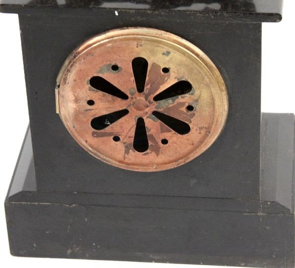 FRENCH 19TH CENTURY MANTLE CLOCK - 4