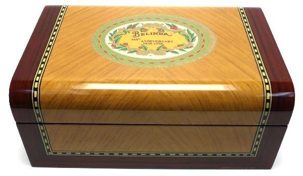 BELINDA 106TH ANNIVERSARY CIGAR HUMIDOR