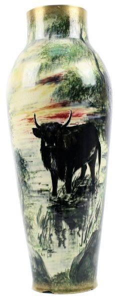 THOMAS FOSTER PORCELAIN PAINTED BY JAMES DEAN
