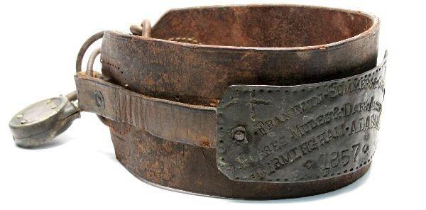 1857 BIRMINGHAM ALABAMA HORSE MULE & SLAVE COLLAR