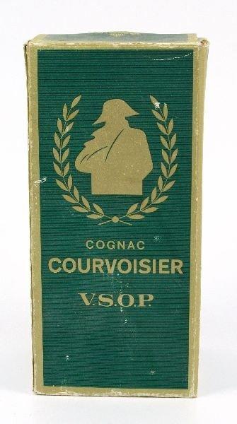 VINTAGE CIRCA 60'S COUVOISIER COGNAC FULL & BOXED