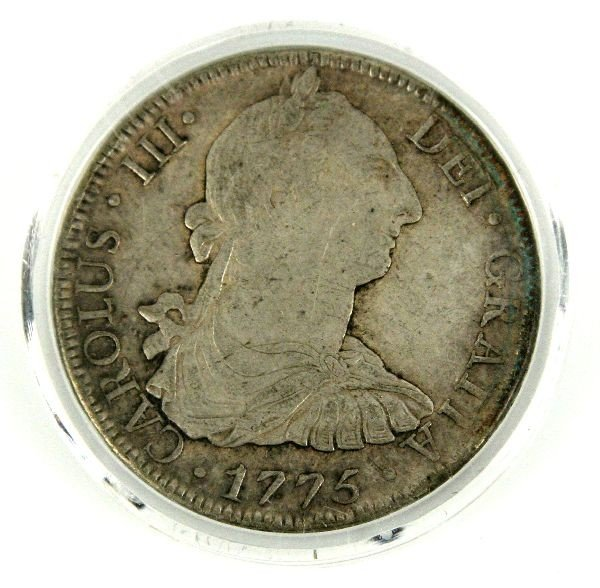 1775 MO MEXICAN SILVER 8 REALES KM# 106.1