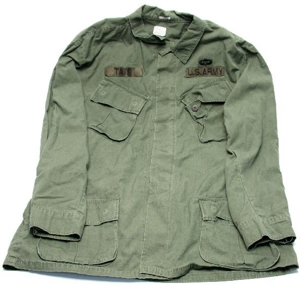 VIETNAM AIRBORNE SLANTED POCKETS FIELD JACKET