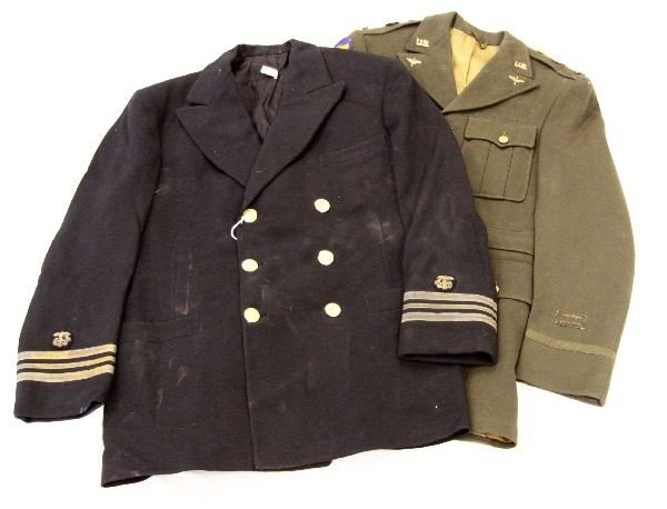 TWO WWII UNIFORMS USAAC AND PUBLIC HEALTH