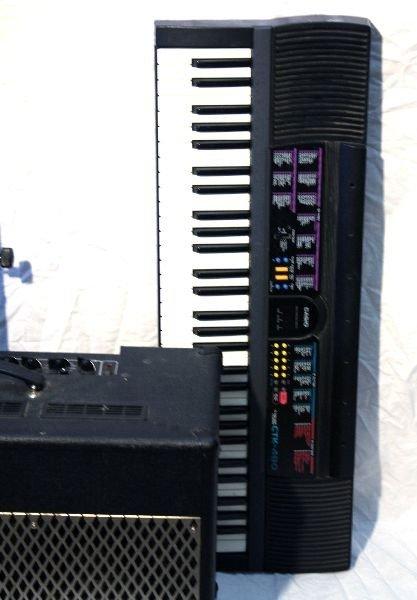 CASIO CTK 480 ELECTRIC KEYBORD W/ AMP& STAND - 4