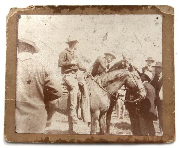 TEDDY ROOSEVELT ARREST PHOTO OKLAHOMA GOV BARNES