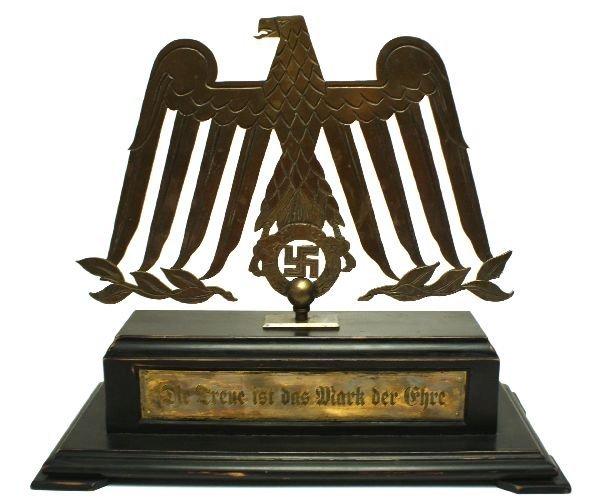UNIQUE GERMAN SS FOYER DECORATION EAGLE