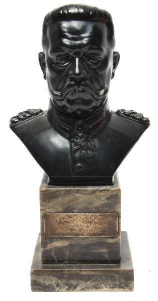 DESKTOP BUST OF PAUL VON HINDENBURG